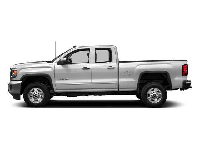 Summit White 2016 GMC Sierra 2500HD Pictures Sierra 2500HD Extended Cab SLE 4WD photos side view