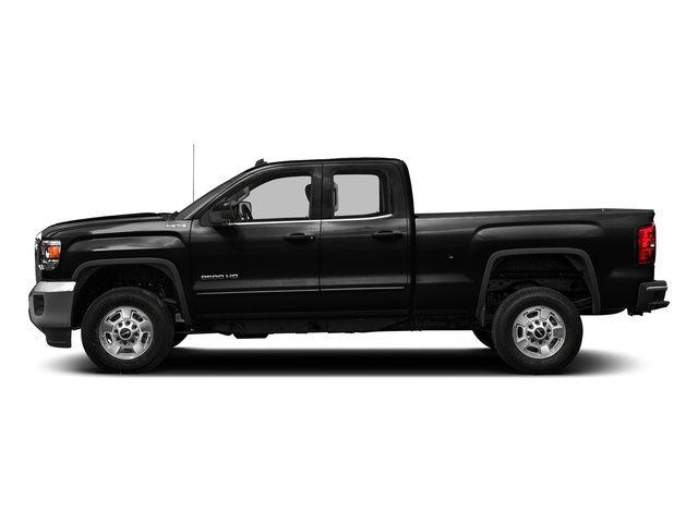 Onyx Black 2016 GMC Sierra 2500HD Pictures Sierra 2500HD Extended Cab SLT 2WD photos side view