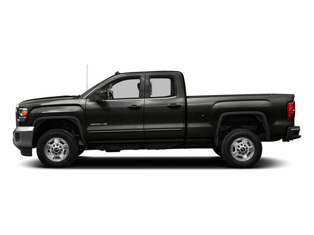 Iridium Metallic 2016 GMC Sierra 2500HD Pictures Sierra 2500HD Extended Cab SLE 4WD photos side view