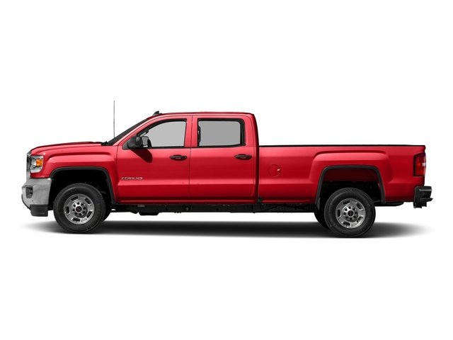 Cardinal Red 2016 GMC Sierra 2500HD Pictures Sierra 2500HD Crew Cab 4WD photos side view