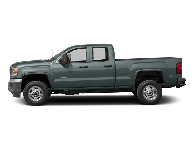 Light Steel Gray Metallic 2016 GMC Sierra 2500HD Pictures Sierra 2500HD Extended Cab 4WD photos side view