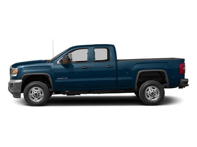 Stone Blue Metallic 2016 GMC Sierra 2500HD Pictures Sierra 2500HD Extended Cab 4WD photos side view