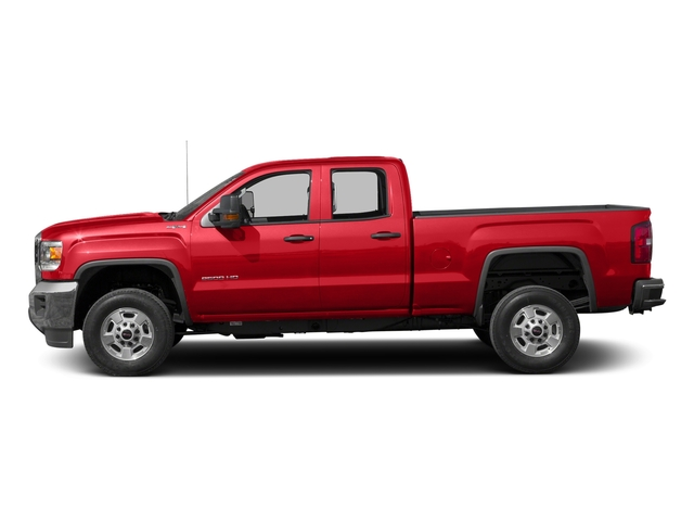 Cardinal Red 2016 GMC Sierra 2500HD Pictures Sierra 2500HD Extended Cab 4WD photos side view