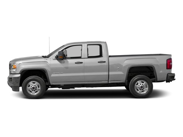 Quicksilver Metallic 2016 GMC Sierra 2500HD Pictures Sierra 2500HD Extended Cab 4WD photos side view