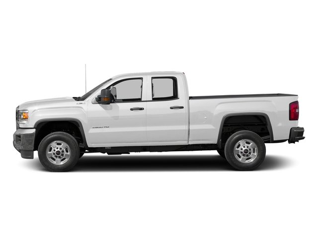Summit White 2016 GMC Sierra 2500HD Pictures Sierra 2500HD Extended Cab 4WD photos side view