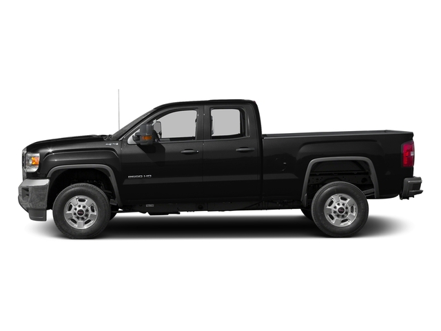 Onyx Black 2016 GMC Sierra 2500HD Pictures Sierra 2500HD Extended Cab 4WD photos side view