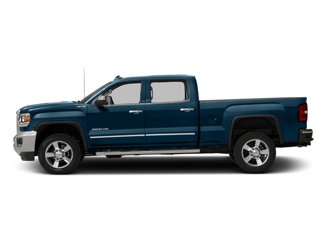 Stone Blue Metallic 2016 GMC Sierra 2500HD Pictures Sierra 2500HD Crew Cab SLT 2WD photos side view