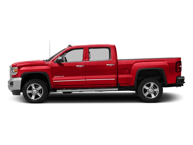 Cardinal Red 2016 GMC Sierra 2500HD Pictures Sierra 2500HD Crew Cab SLT 2WD photos side view