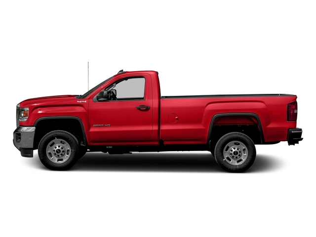 Cardinal Red 2016 GMC Sierra 2500HD Pictures Sierra 2500HD Regular Cab 4WD photos side view