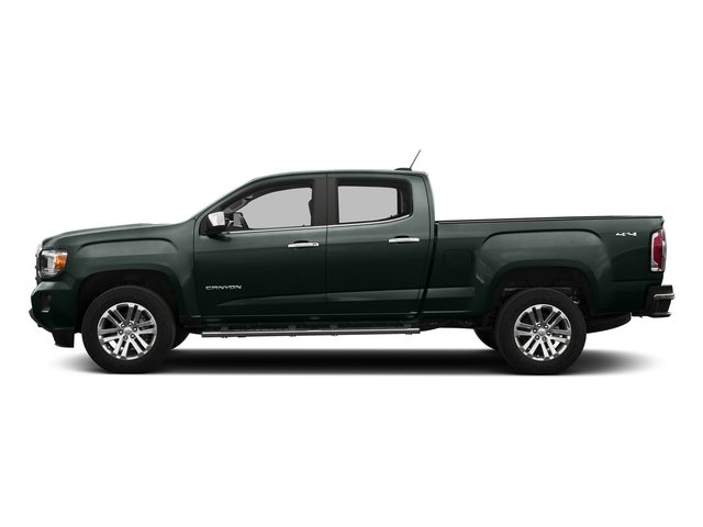 Emerald Green Metallic 2016 GMC Canyon Pictures Canyon Crew Cab SLT 4WD photos side view