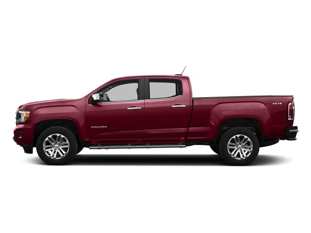 Copper Red Metallic 2016 GMC Canyon Pictures Canyon Crew Cab SLT 4WD photos side view