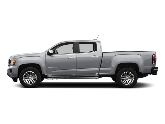 Quicksilver Metallic 2016 GMC Canyon Pictures Canyon Crew Cab SLT 4WD photos side view