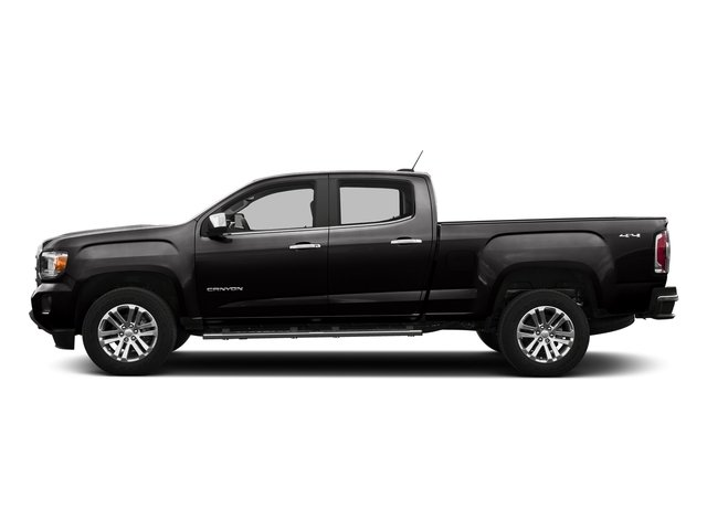 Onyx Black 2016 GMC Canyon Pictures Canyon Crew Cab SLT 4WD photos side view