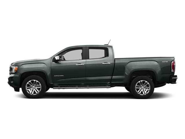 Cyber Gray Metallic 2016 GMC Canyon Pictures Canyon Crew Cab SLT 4WD photos side view