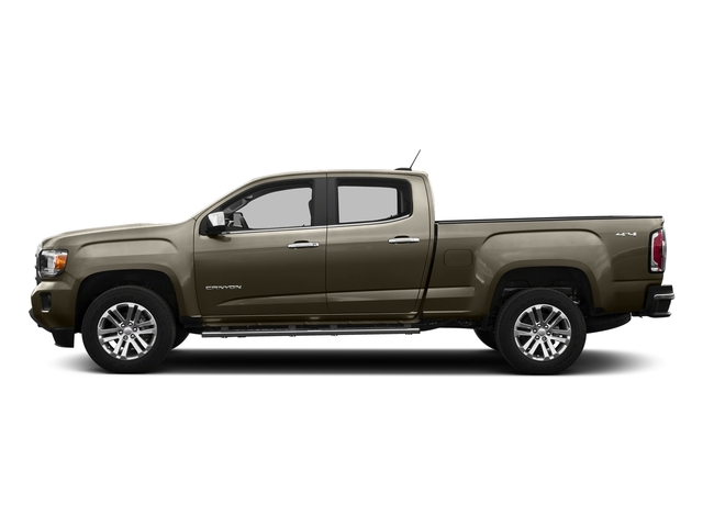 Bronze Alloy Metallic 2016 GMC Canyon Pictures Canyon Crew Cab SLT 4WD photos side view