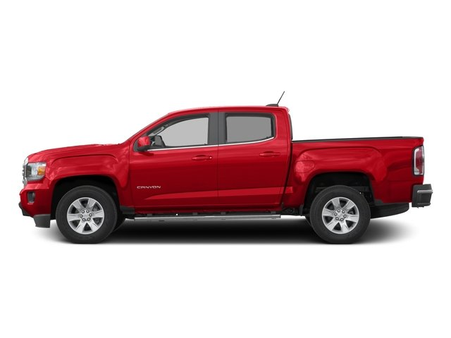 Cardinal Red 2016 GMC Canyon Pictures Canyon Crew Cab SLE 2WD photos side view