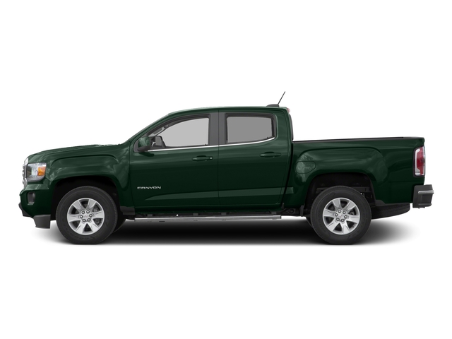 Emerald Green Metallic 2016 GMC Canyon Pictures Canyon Crew Cab SLE 2WD photos side view