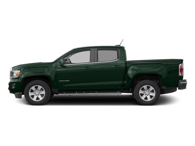 Emerald Green Metallic 2016 GMC Canyon Pictures Canyon Crew Cab SLE 4WD T-Diesel photos side view
