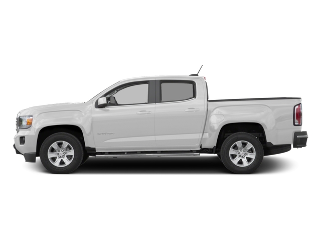 Summit White 2016 GMC Canyon Pictures Canyon Crew Cab SLE 4WD T-Diesel photos side view