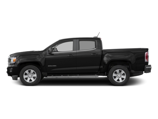 Onyx Black 2016 GMC Canyon Pictures Canyon Crew Cab SLE 2WD photos side view