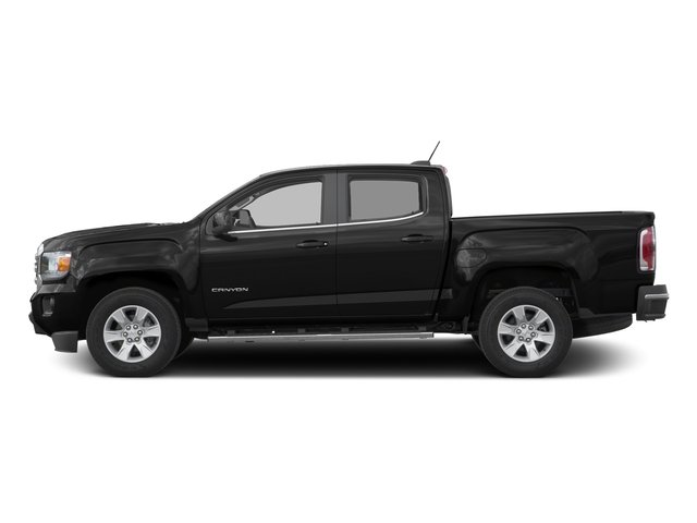 Onyx Black 2016 GMC Canyon Pictures Canyon Crew Cab SLE 4WD T-Diesel photos side view