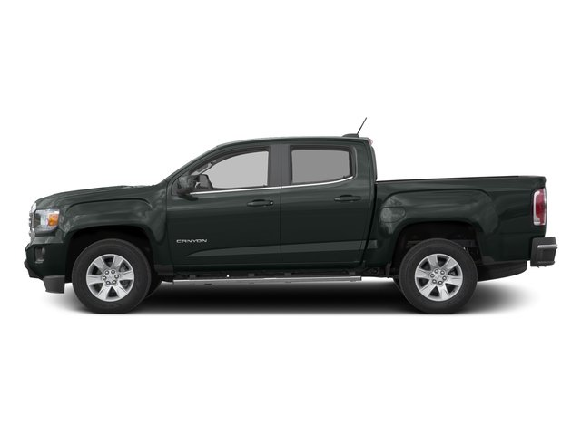 Cyber Gray Metallic 2016 GMC Canyon Pictures Canyon Crew Cab SLE 2WD photos side view