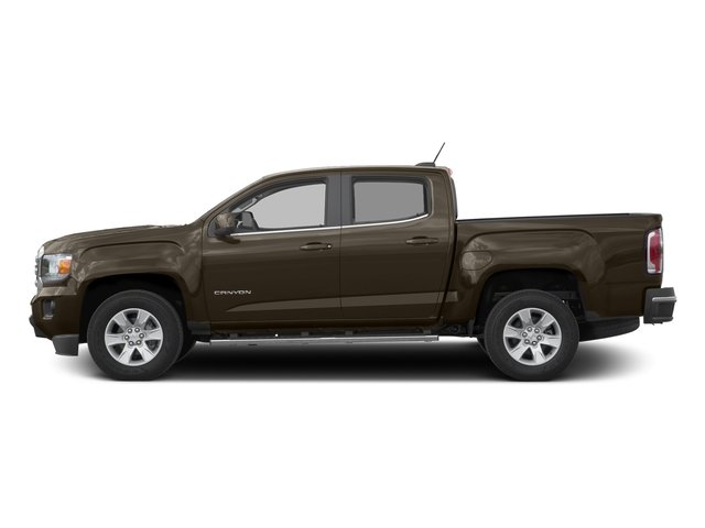 Bronze Alloy Metallic 2016 GMC Canyon Pictures Canyon Crew Cab SLE 4WD T-Diesel photos side view