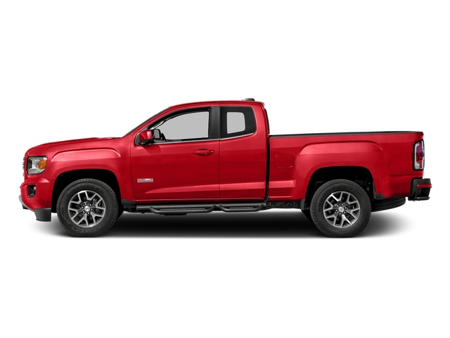 Cardinal Red 2016 GMC Canyon Pictures Canyon Extended Cab SLE 4WD photos side view