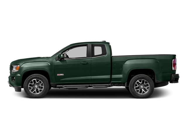 Emerald Green Metallic 2016 GMC Canyon Pictures Canyon Extended Cab SLE 4WD photos side view