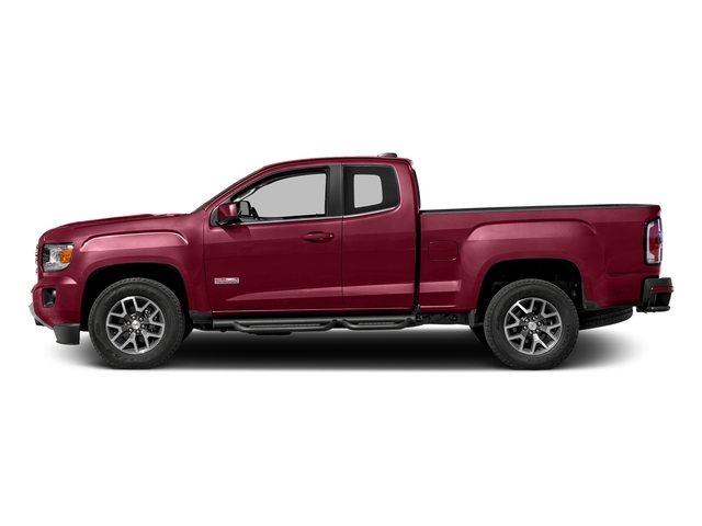 Copper Red Metallic 2016 GMC Canyon Pictures Canyon Extended Cab SLE 4WD photos side view