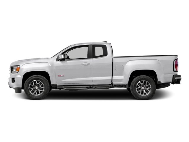 Quicksilver Metallic 2016 GMC Canyon Pictures Canyon Extended Cab SLE 4WD photos side view