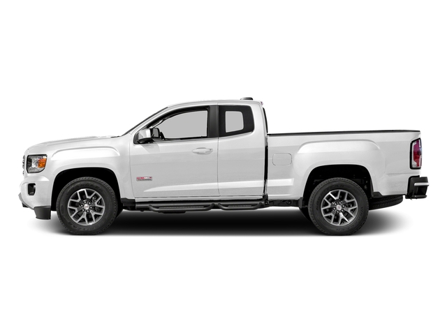 Summit White 2016 GMC Canyon Pictures Canyon Extended Cab SLE 4WD photos side view