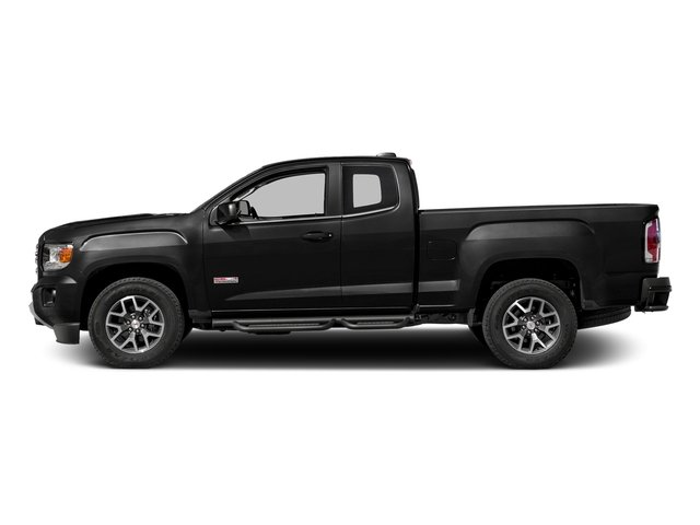 Onyx Black 2016 GMC Canyon Pictures Canyon Extended Cab SLE 4WD photos side view