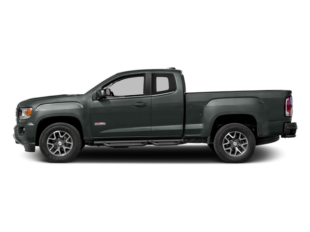 Cyber Gray Metallic 2016 GMC Canyon Pictures Canyon Extended Cab SLE 4WD photos side view