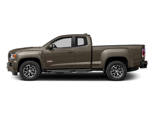 Bronze Alloy Metallic 2016 GMC Canyon Pictures Canyon Extended Cab SLE 4WD photos side view