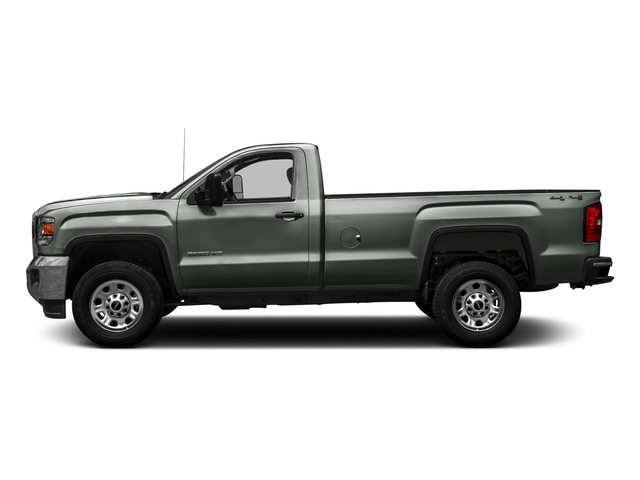 Light Steel Gray Metallic 2016 GMC Sierra 3500HD Pictures Sierra 3500HD Regular Cab 4WD photos side view