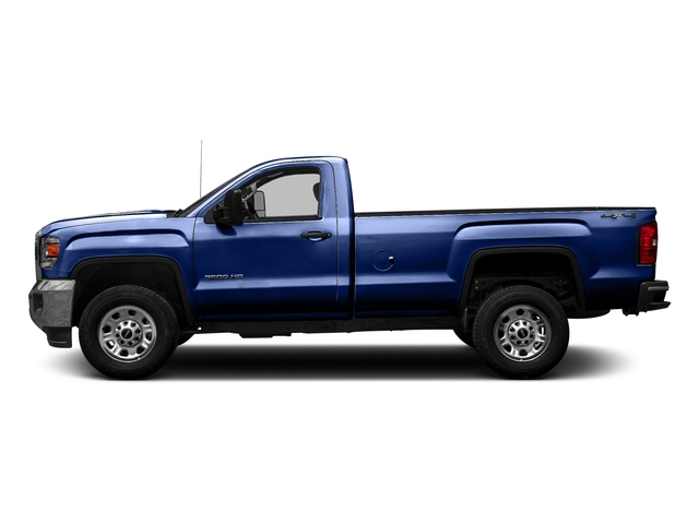 Stone Blue Metallic 2016 GMC Sierra 3500HD Pictures Sierra 3500HD Regular Cab 4WD photos side view
