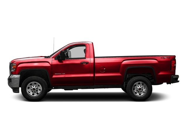 Cardinal Red 2016 GMC Sierra 3500HD Pictures Sierra 3500HD Regular Cab 4WD photos side view