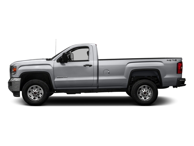 Quicksilver Metallic 2016 GMC Sierra 3500HD Pictures Sierra 3500HD Regular Cab 4WD photos side view