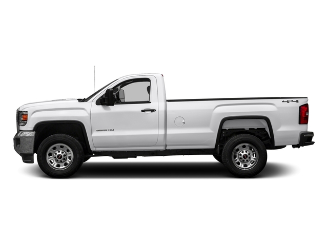 Summit White 2016 GMC Sierra 3500HD Pictures Sierra 3500HD Regular Cab 4WD photos side view
