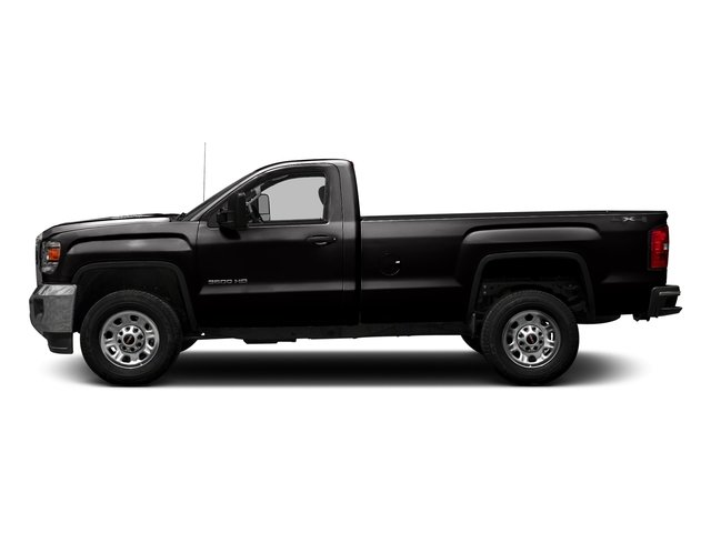 Onyx Black 2016 GMC Sierra 3500HD Pictures Sierra 3500HD Regular Cab 4WD photos side view