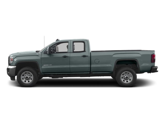 Light Steel Gray Metallic 2016 GMC Sierra 3500HD Pictures Sierra 3500HD Extended Cab 2WD photos side view