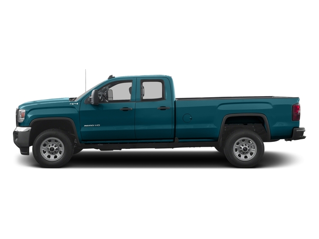 Stone Blue Metallic 2016 GMC Sierra 3500HD Pictures Sierra 3500HD Extended Cab 2WD photos side view
