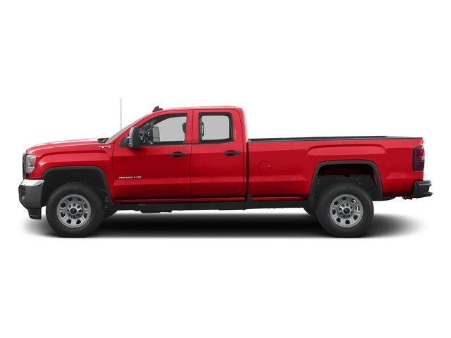 Cardinal Red 2016 GMC Sierra 3500HD Pictures Sierra 3500HD Extended Cab 2WD photos side view