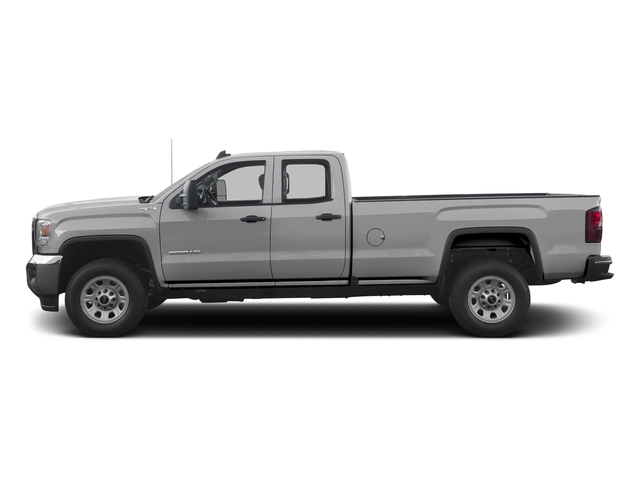 Quicksilver Metallic 2016 GMC Sierra 3500HD Pictures Sierra 3500HD Extended Cab 2WD photos side view