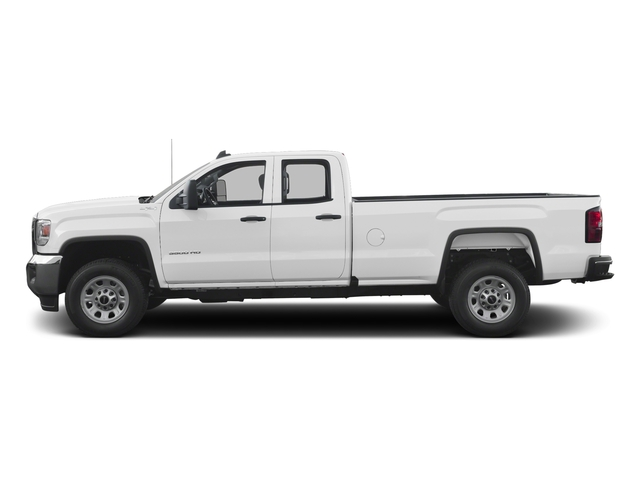 Summit White 2016 GMC Sierra 3500HD Pictures Sierra 3500HD Extended Cab 2WD photos side view