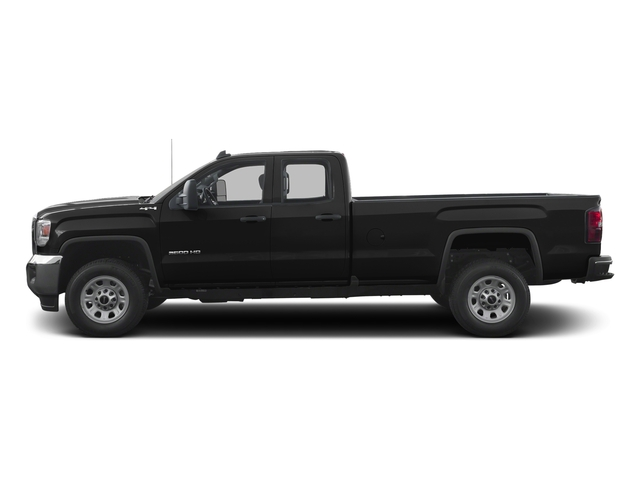 Onyx Black 2016 GMC Sierra 3500HD Pictures Sierra 3500HD Extended Cab 2WD photos side view