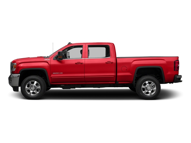 Cardinal Red 2016 GMC Sierra 3500HD Pictures Sierra 3500HD Crew Cab SLE 2WD photos side view