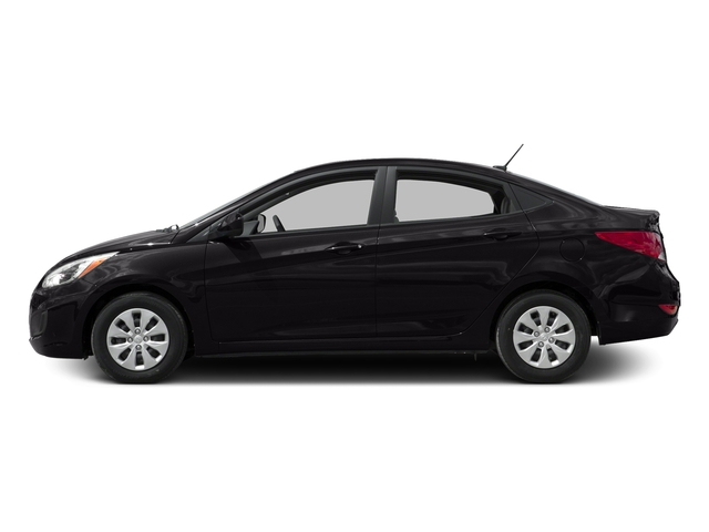 Ultra Black Pearl 2016 Hyundai Accent Pictures Accent Sedan 4D SE I4 photos side view