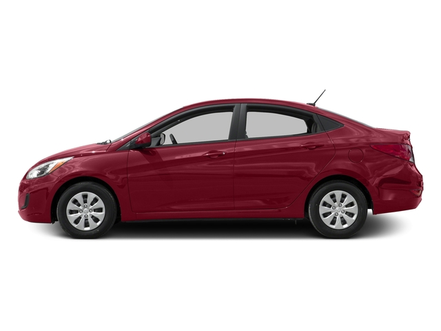 Boston Red Metallic 2016 Hyundai Accent Pictures Accent Sedan 4D SE I4 photos side view